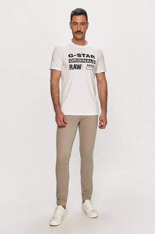 G-Star Raw - Pánske tričko biela