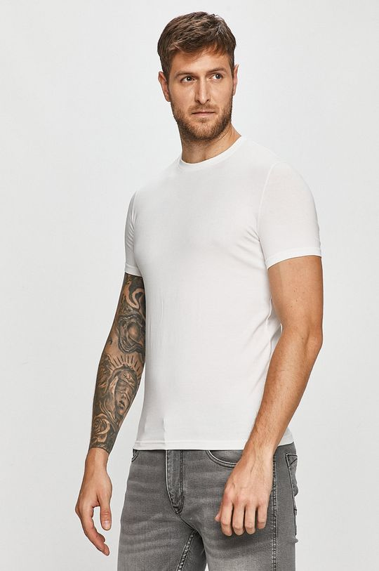 bílá DSQUARED2 - Tričko (2-pack) Pánský