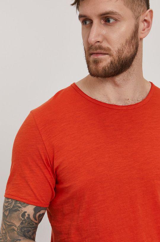 miedziany Selected - T-shirt