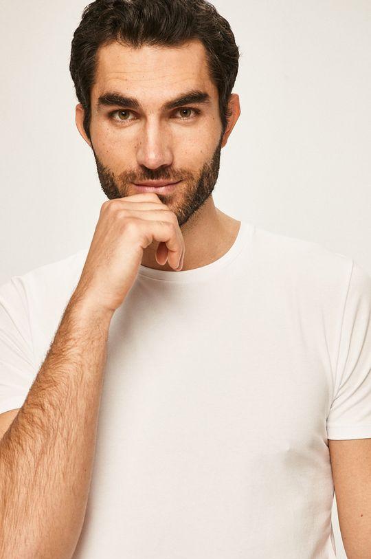 Selected - Pánske tričko biela
