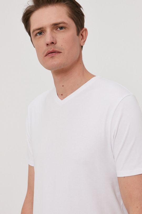 biały Selected - T-shirt