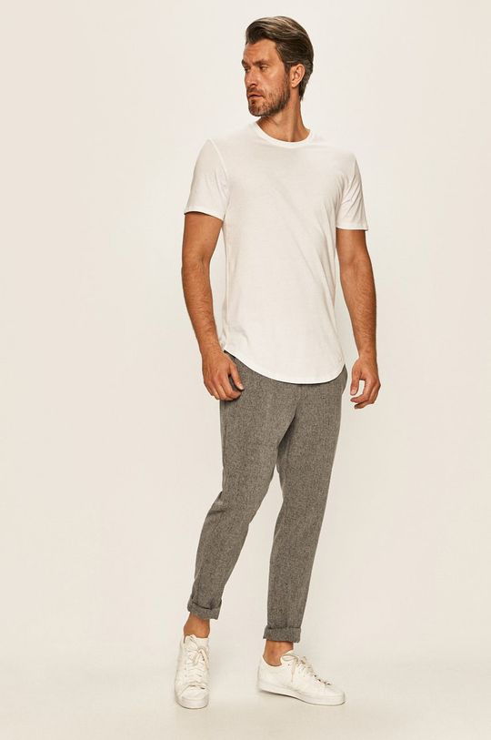 Only & Sons - T-shirt biały