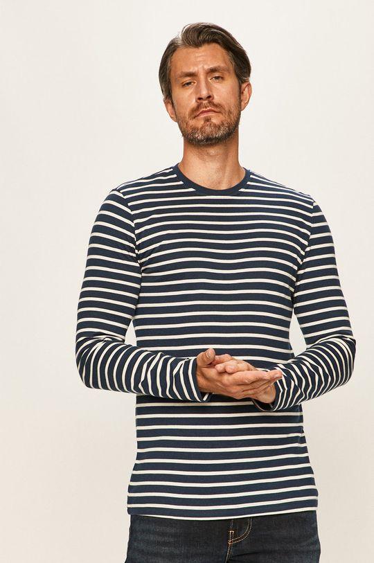 námořnická modř Only & Sons - Tričko s dlouhým rukávem Pánský