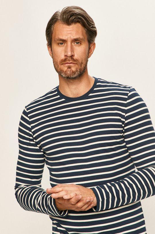 námořnická modř Only & Sons - Tričko s dlouhým rukávem