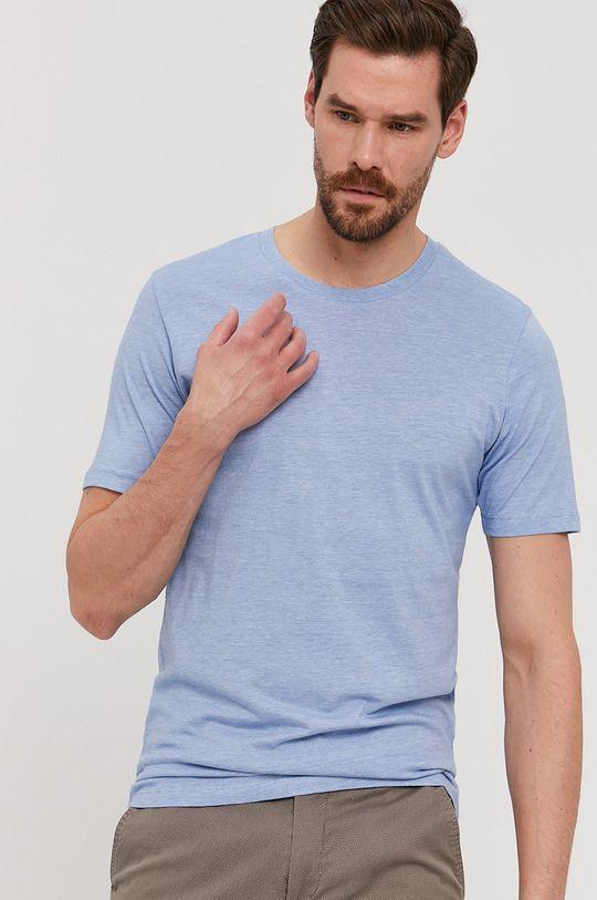 světle modrá Selected - Tričko Pánský