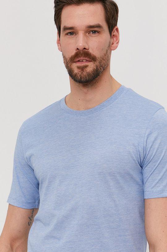 světle modrá Selected - Tričko