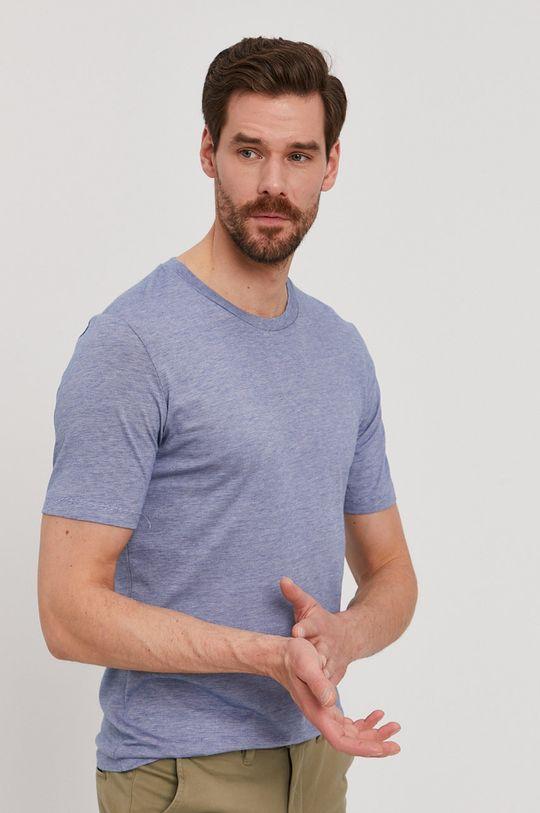 modrá Selected - Tričko Pánský