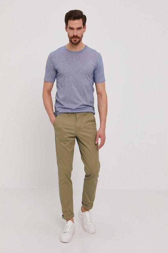 Selected - Tričko modrá