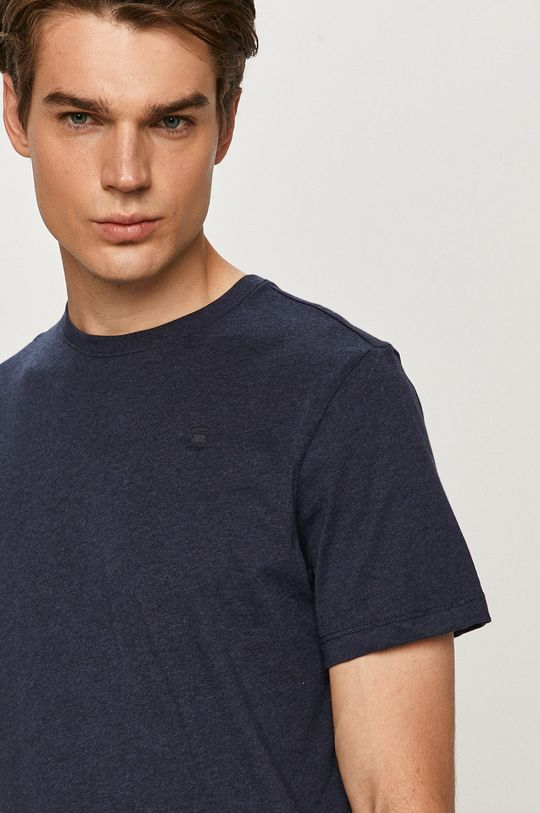 granatowy G-Star Raw - T-shirt
