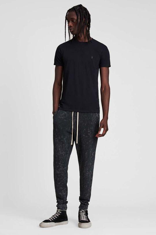 AllSaints - T-shirt Tonic SS Crew 100 % Bawełna