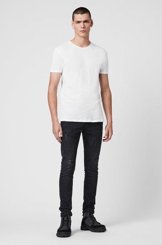 AllSaints - T-shirt Figure Crew 100 % Bawełna