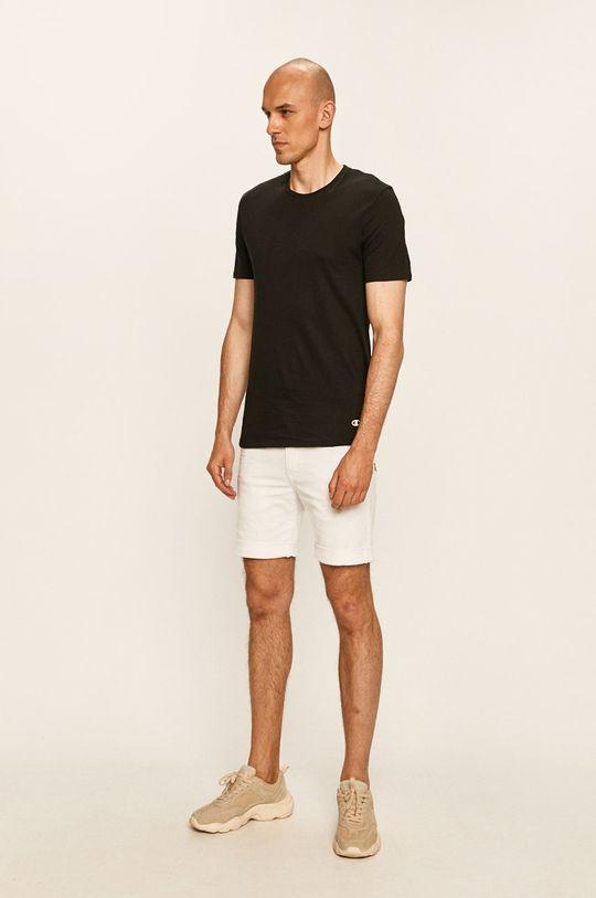 Champion - T-shirt (2-pack) czarny