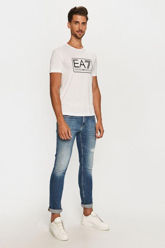 EA7 Emporio Armani - Tričko biela