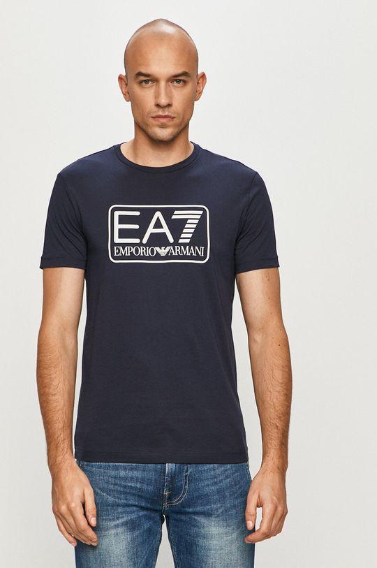 námořnická modř EA7 Emporio Armani - Tričko Pánský