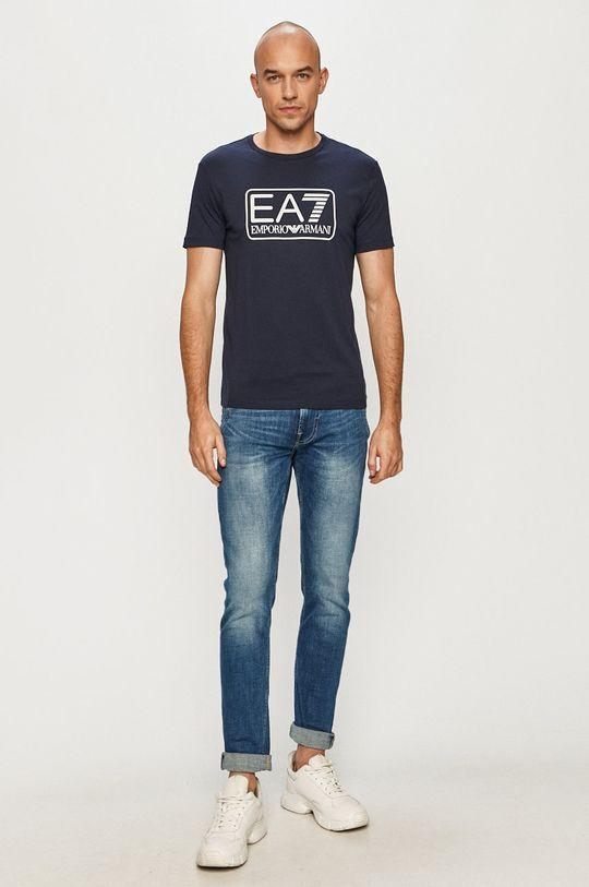 EA7 Emporio Armani - Tričko námořnická modř