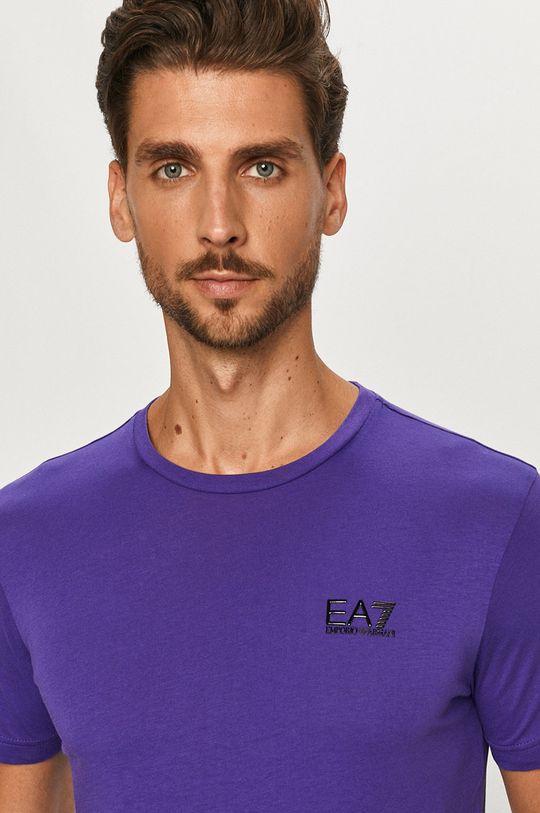 fialová EA7 Emporio Armani - Tričko
