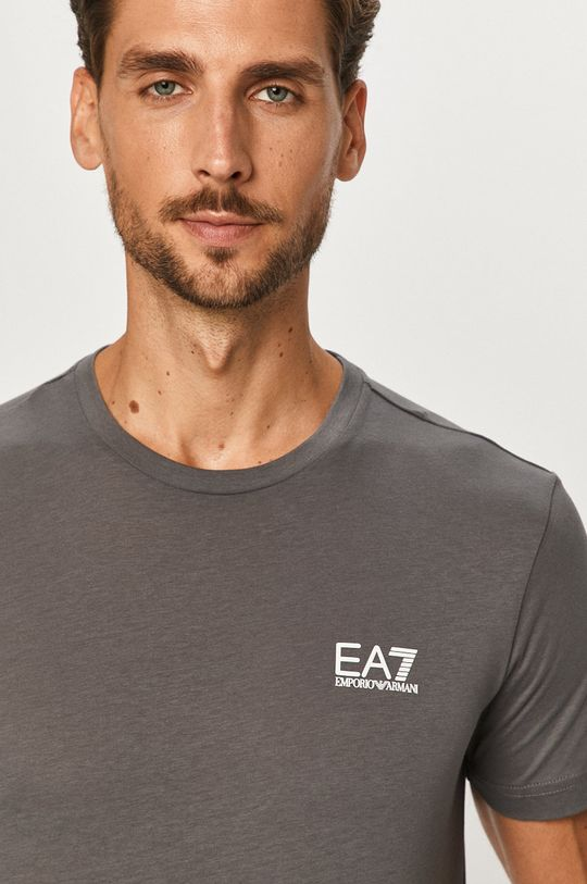 sivá EA7 Emporio Armani - Tričko