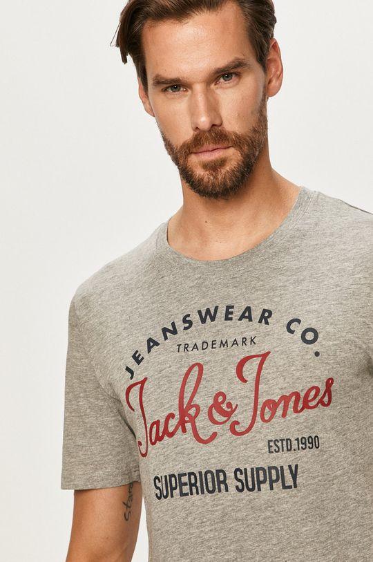 světle šedá Jack & Jones - Tričko
