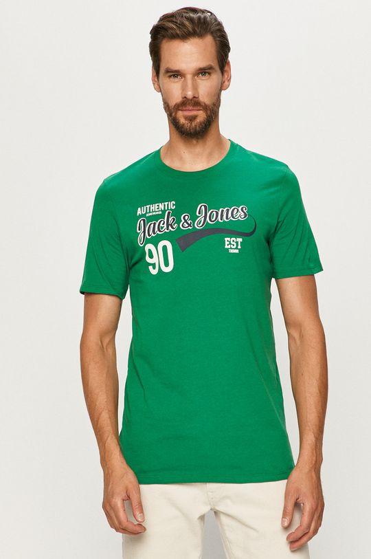 zelená Jack & Jones - Tričko Pánský