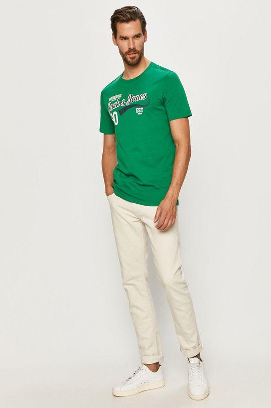 Jack & Jones - Tričko zelená