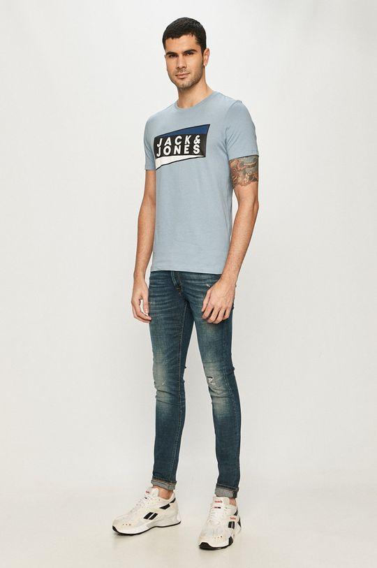 Jack & Jones - T-shirt fioletowy