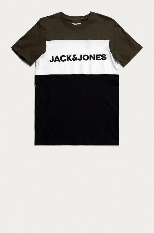zielony Jack & Jones - T-shirt Męski