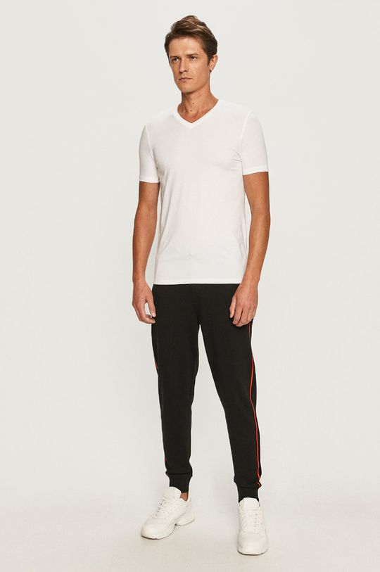 Hugo - T-shirt (2-pack) biały