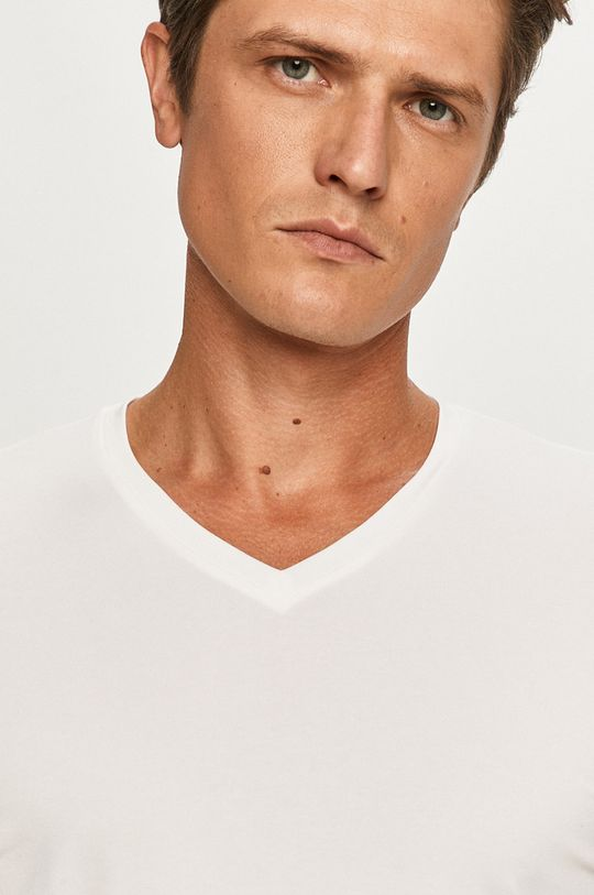 biały Hugo - T-shirt (2-pack)