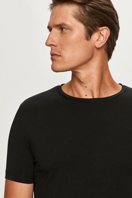 czarny Hugo - T-shirt (2-pack)