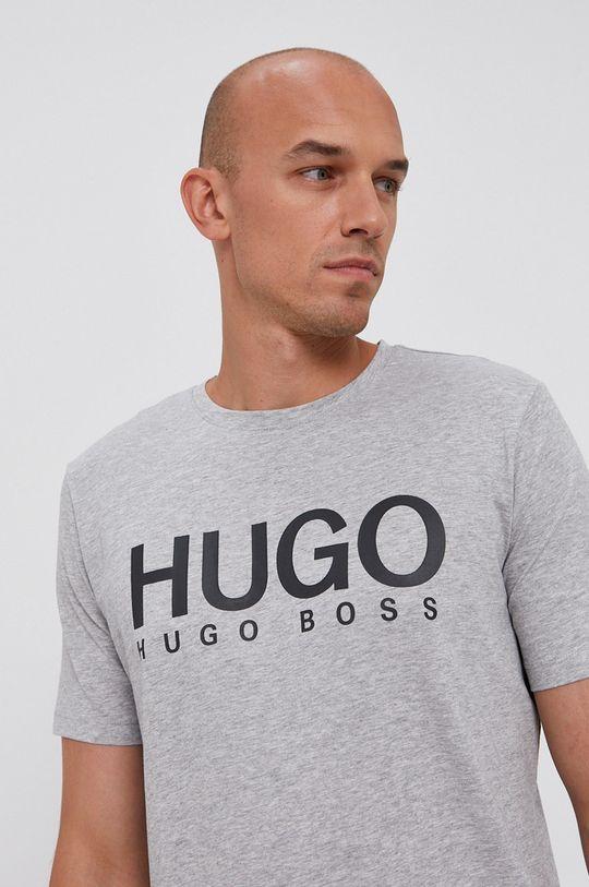 szary Hugo - T-shirt