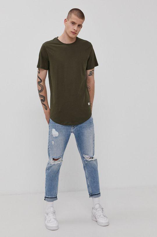 Jack & Jones - T-shirt militarny