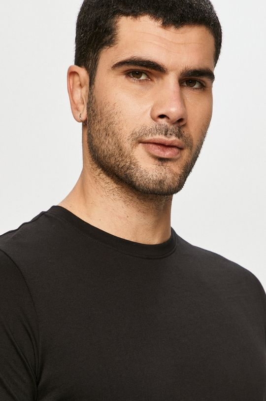 czarny Jack & Jones - T-shirt
