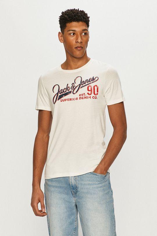 bílá Jack & Jones - Tričko Pánský
