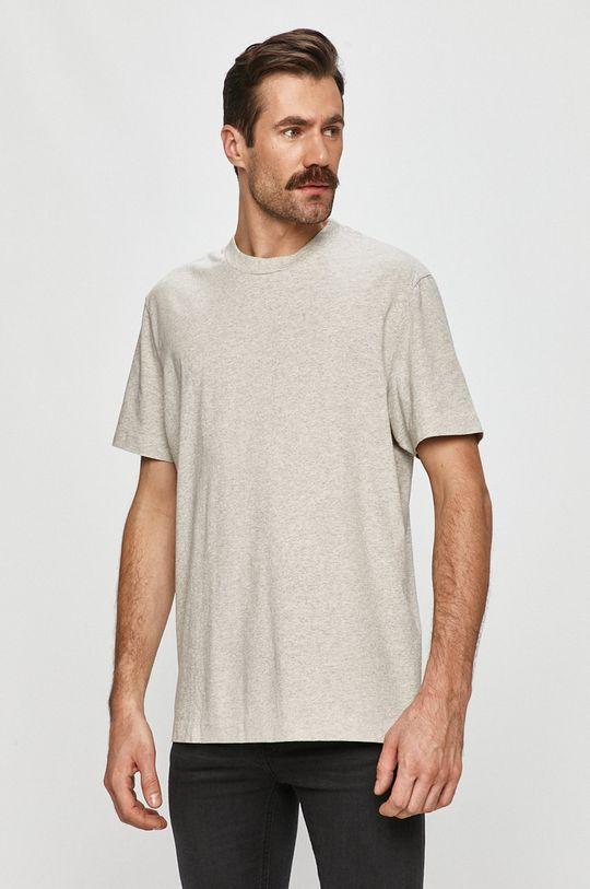 sivá AllSaints - Tričko Pánsky