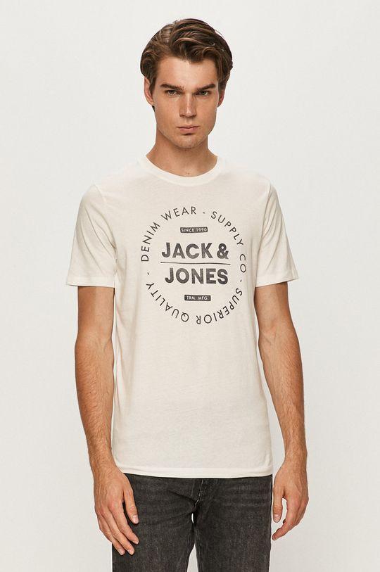 krémová Jack & Jones - Tričko Pánsky