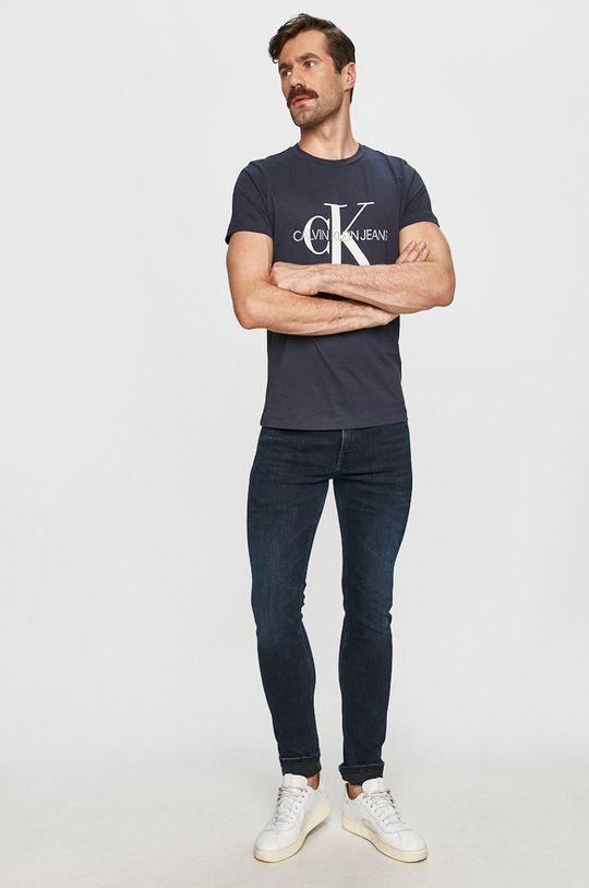 Calvin Klein Jeans - Tričko tmavomodrá
