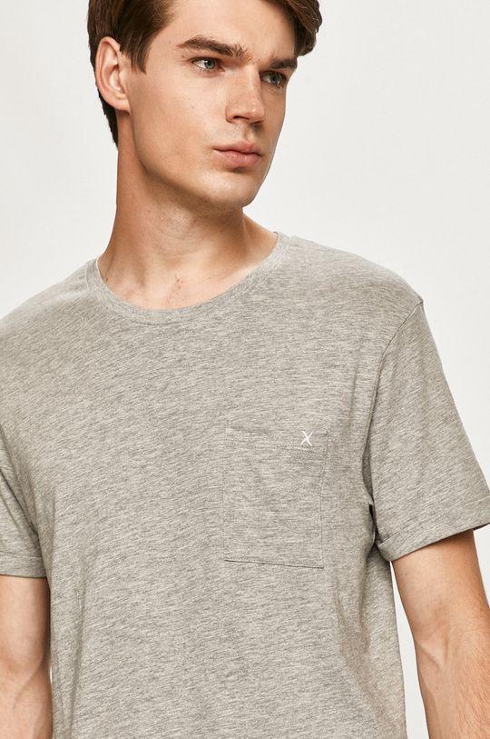 svetlosivá Clean Cut Copenhagen - Tričko Pánsky