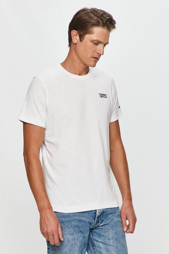 biela Tommy Jeans - Tričko