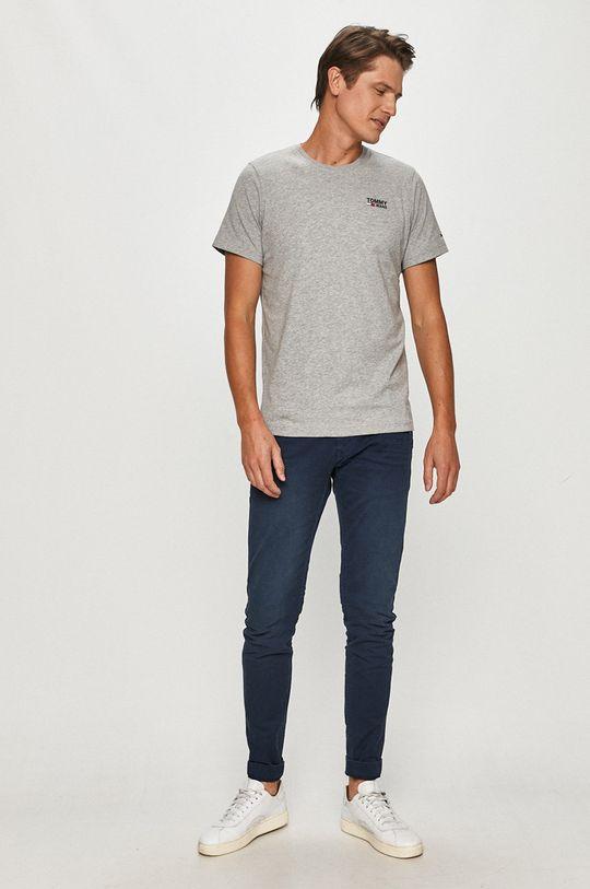 Tommy Jeans - Tričko sivá