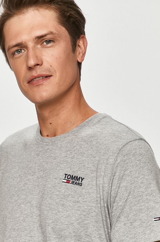 sivá Tommy Jeans - Tričko