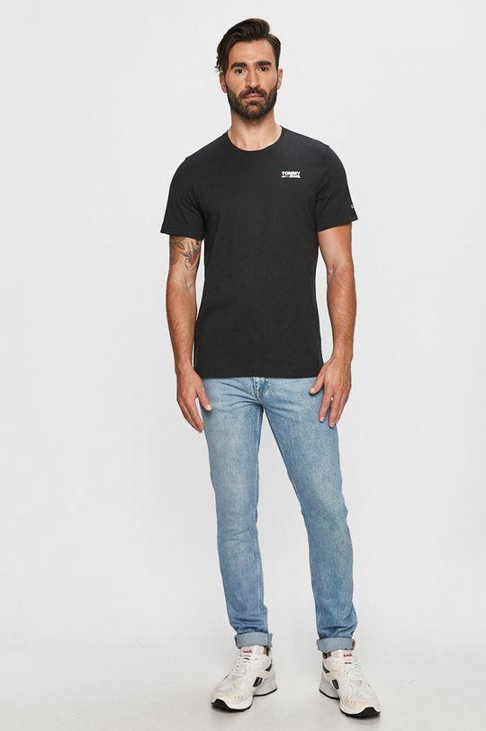 Tommy Jeans - Tričko čierna