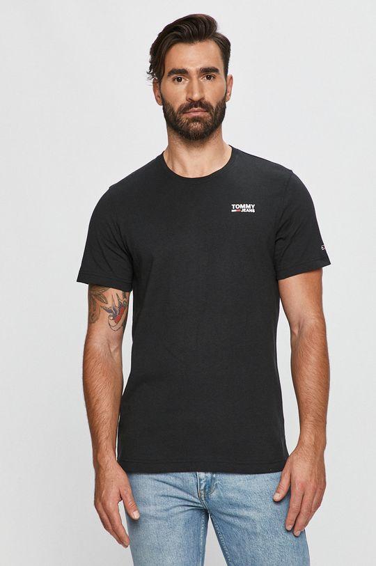 čierna Tommy Jeans - Tričko