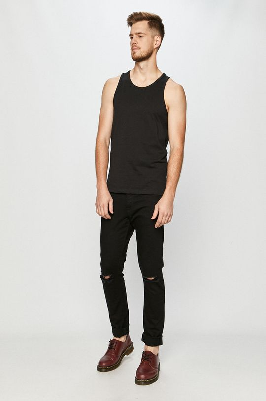 czarny Jack & Jones - T-shirt (2-pack)