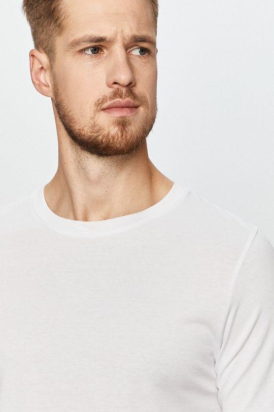 biały Jack & Jones - T-shirt (2-pack)