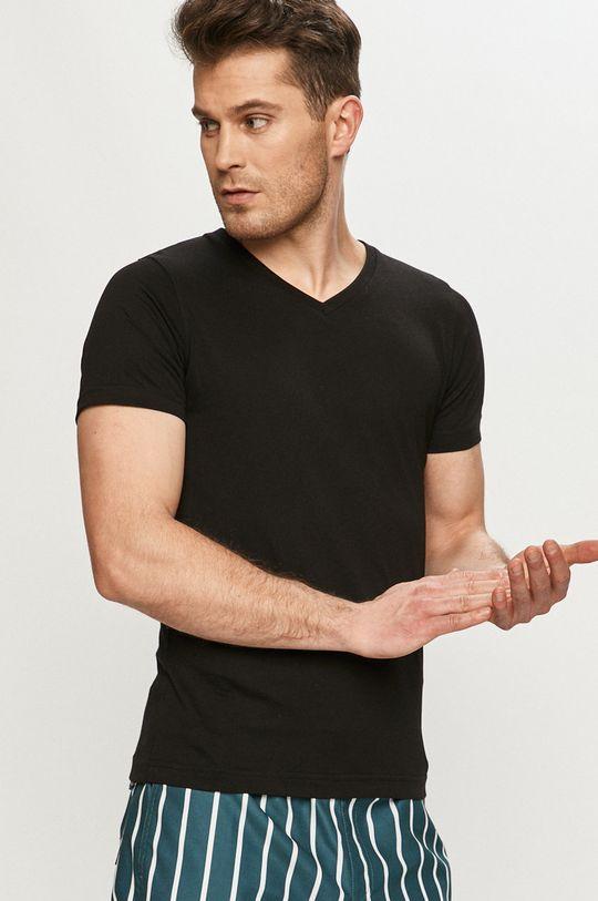 černá Karl Lagerfeld - Tričko (2-pack)