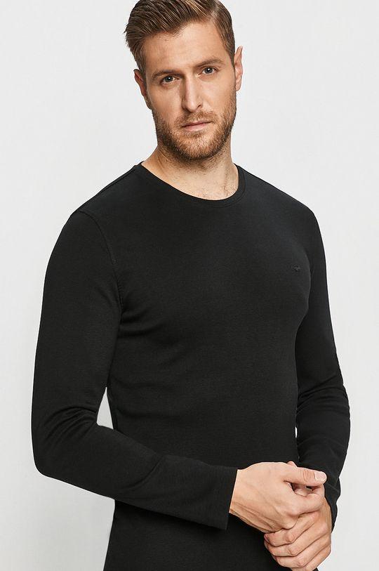 černá Mustang - Tričko s dlouhým rukávem Pánský