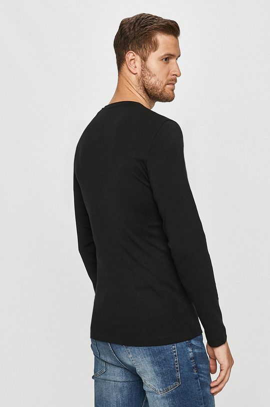 Mustang - Tričko s dlouhým rukávem  100% Bavlna