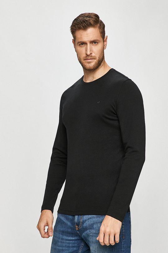 černá Mustang - Tričko s dlouhým rukávem
