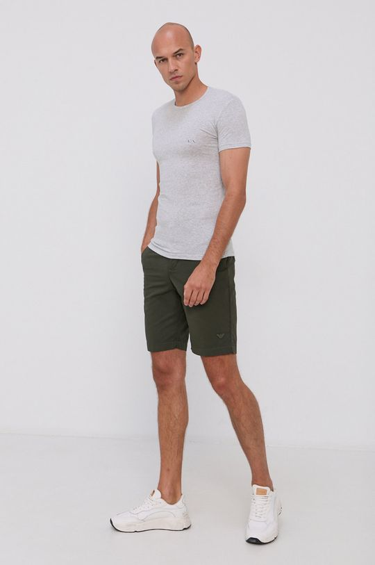 Armani Exchange - T-shirt (2-pack) 95 % Bawełna, 5 % Elastan