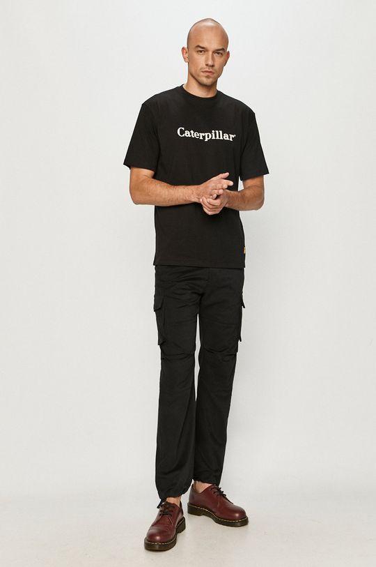 Caterpillar - Tričko čierna